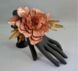Pretty Peony - Copper, Ink 2013