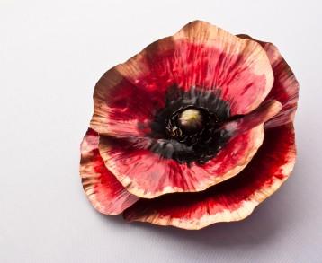 Poppy Pretty - Copper, Ink $37