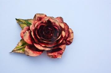 Eternal Rose - Copper, Ink $65